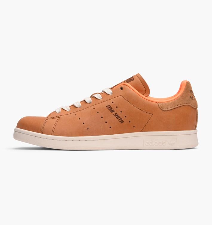 adidas stan smith marron cuir 94f82c48425
